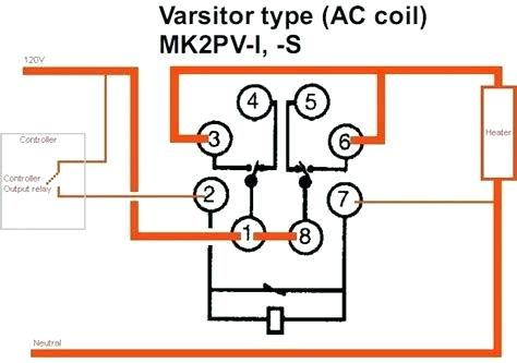 8 Pin Ice Cube Relay Wiring Diagram