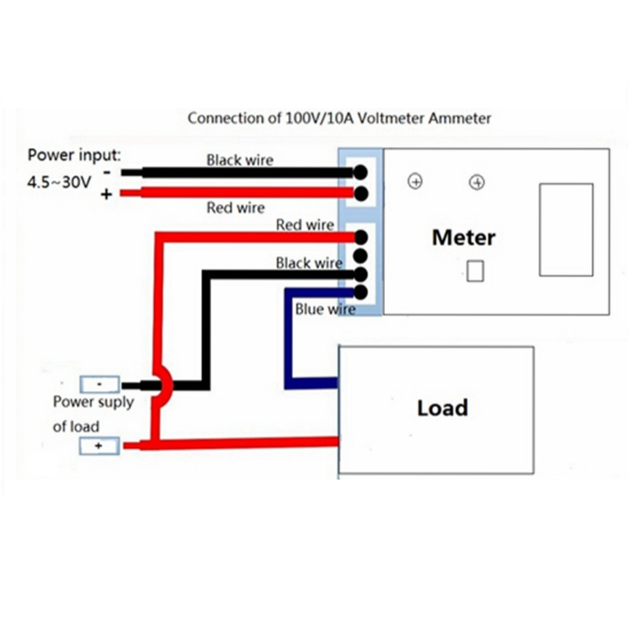 Kl 2390 Panel Voltmeter Ammeter Electronic Project Using Cmos Wiring Diagram