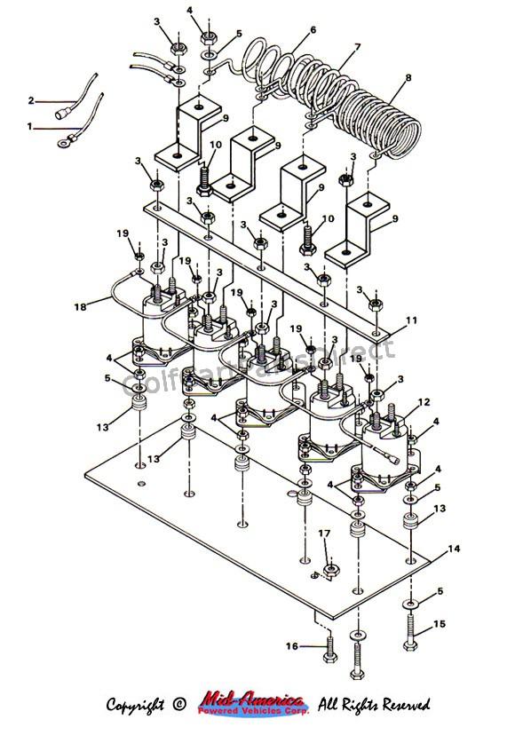 Wondrous 1984 1991 Club Car Ds Electric Golfcartpartsdirect Wiring Cloud Biosomenaidewilluminateatxorg