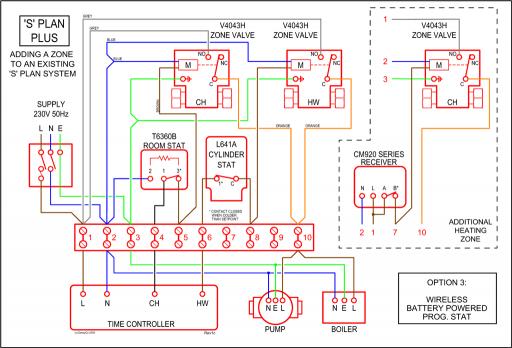 Sk 8294 S Plan Wiring Diagram With Underfloor Heating