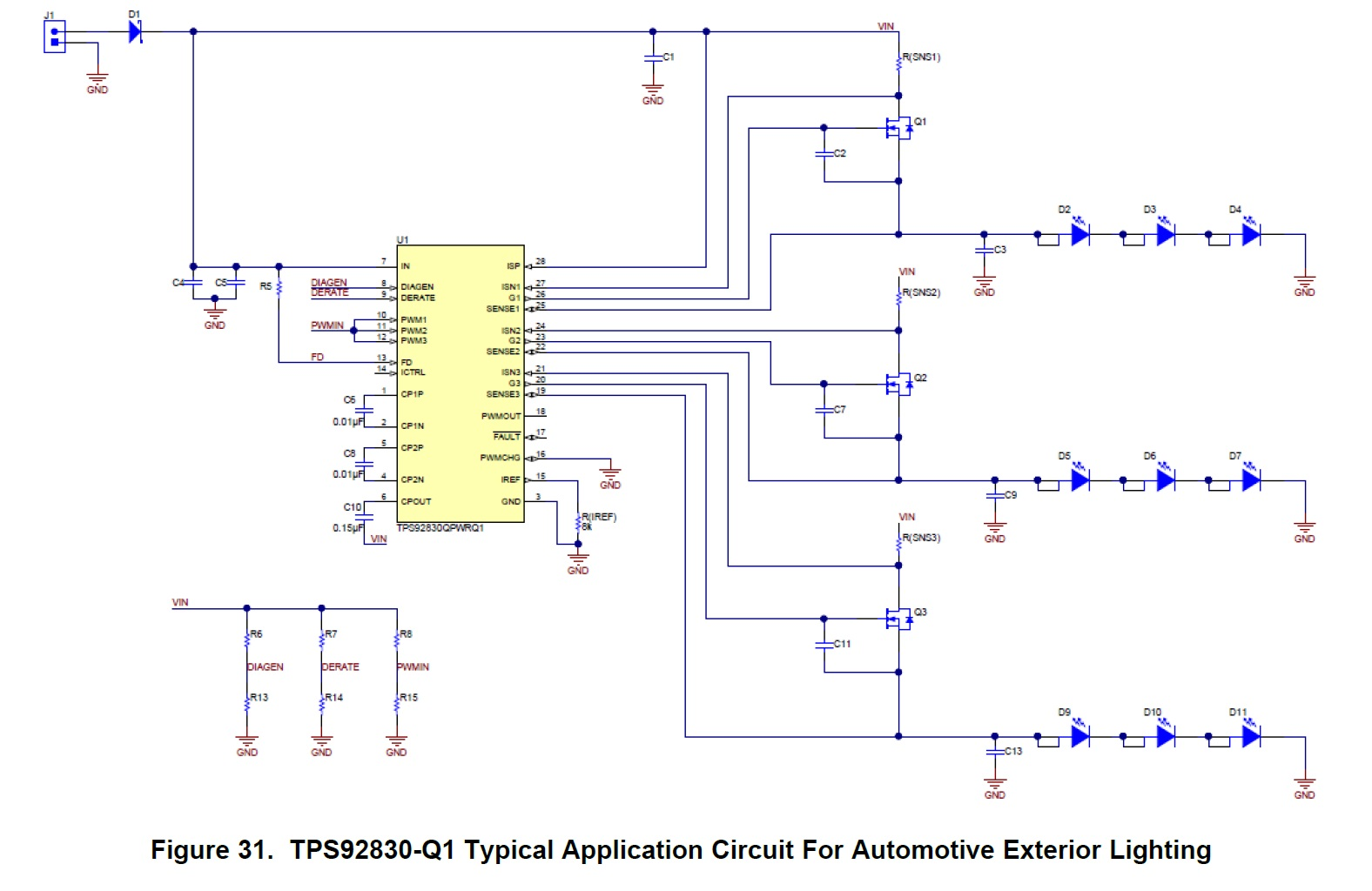 Marvelous Led Control For Automotive Applications A 3 Channel Constant Wiring Cloud Gufailluminateatxorg