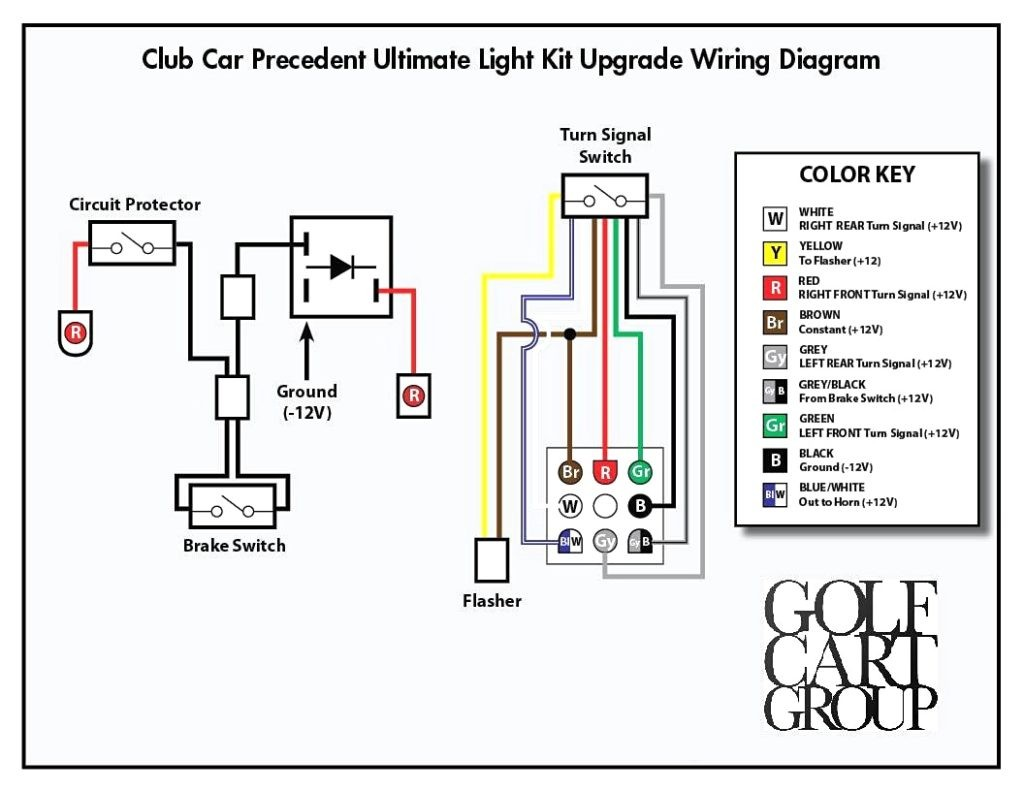 Club Car Golf Cart Turn Signal Wiring Diagram - Wiring Diagram