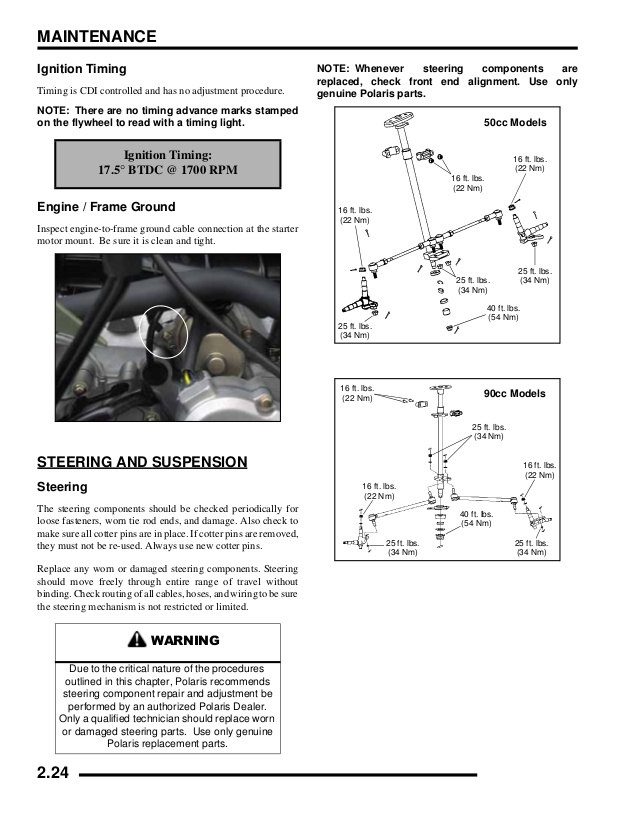 2001 Sportsman 90 Wiring Diagram