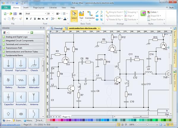 Miraculous Electrical Drawing Software Wiring Cloud Monangrecoveryedborg