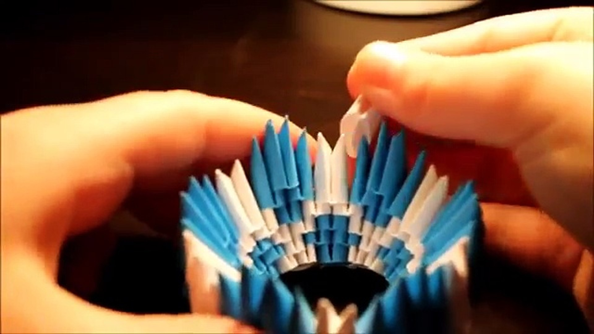 3D Origami Pokeball Tutorial - YouTube … | Origami crafts, 3d ... | 1080x1920