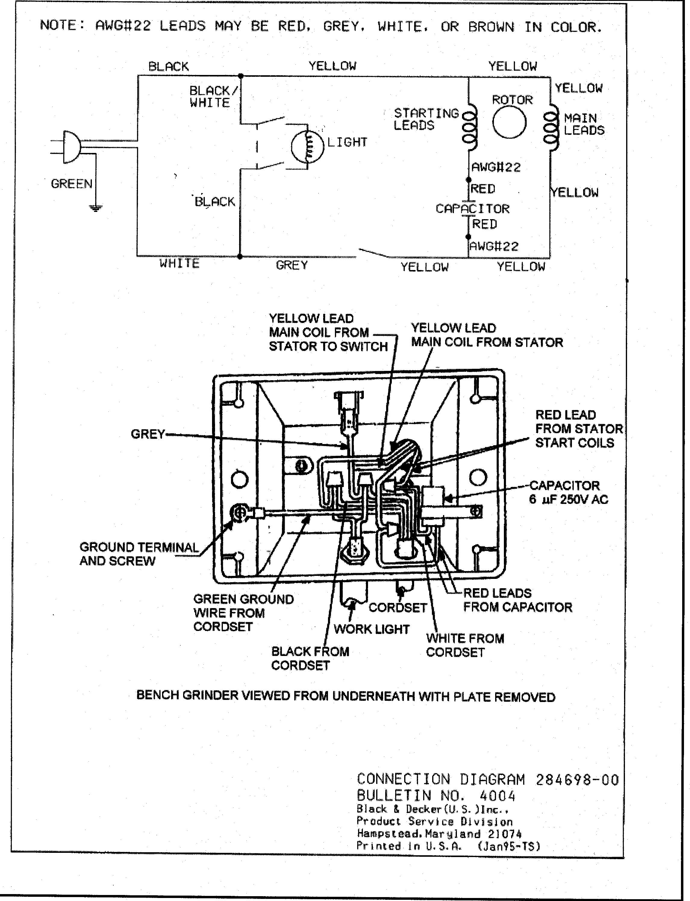 [SCHEMATICS_48ZD]  ES_8414] Grinder Wiring Diagram Schematic Wiring | Bench Grinder Wire Diagram |  | Phot Hylec Birdem Mohammedshrine Librar Wiring 101