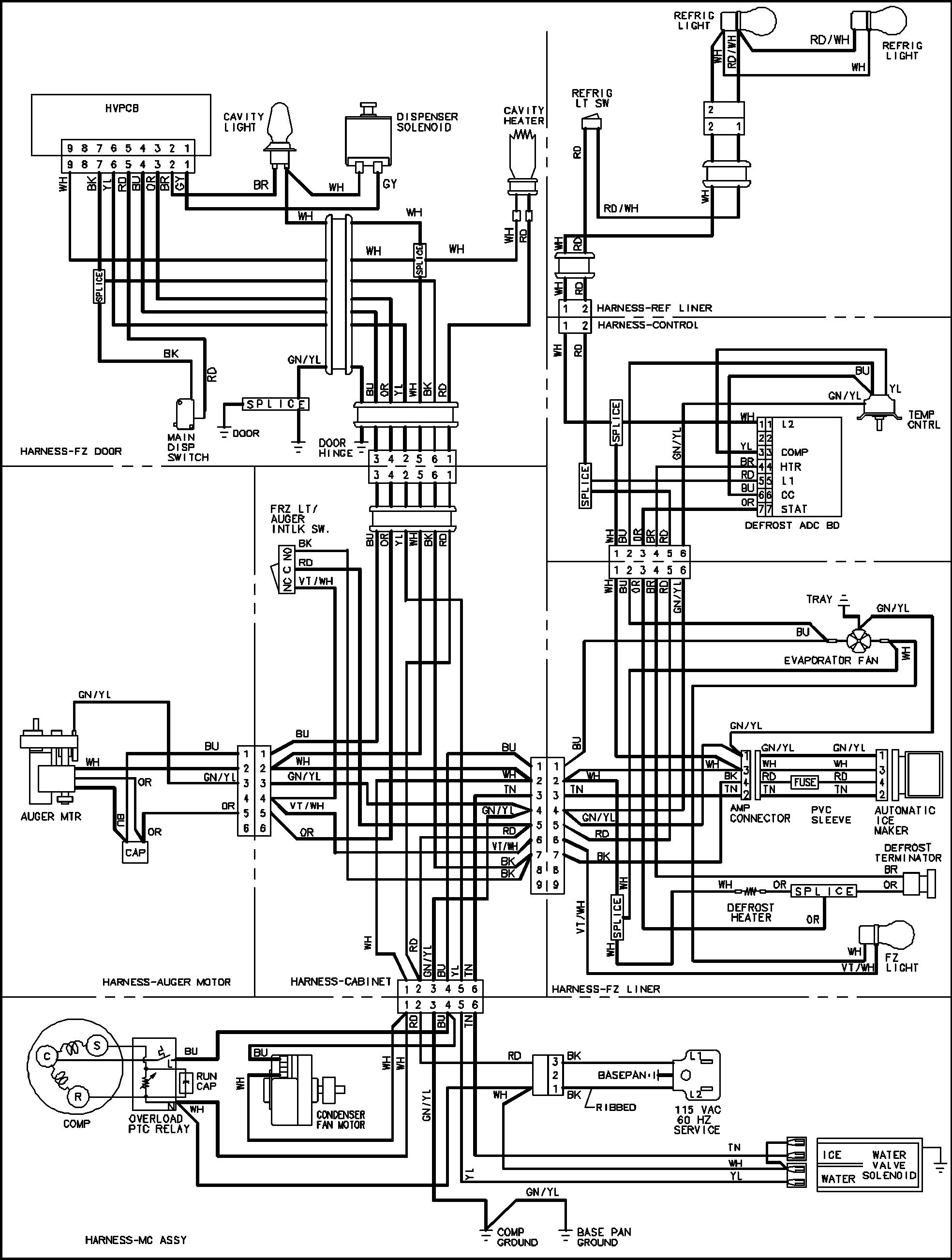 Groovy Simple Refrigerator Wiring Diagram Basic Electronics Wiring Diagram Wiring Cloud Domeilariaidewilluminateatxorg