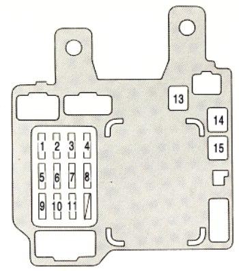 Groovy 1999 Lexus Es300 Fuse Box Diagram Basic Electronics Wiring Diagram Wiring Cloud Picalendutblikvittorg