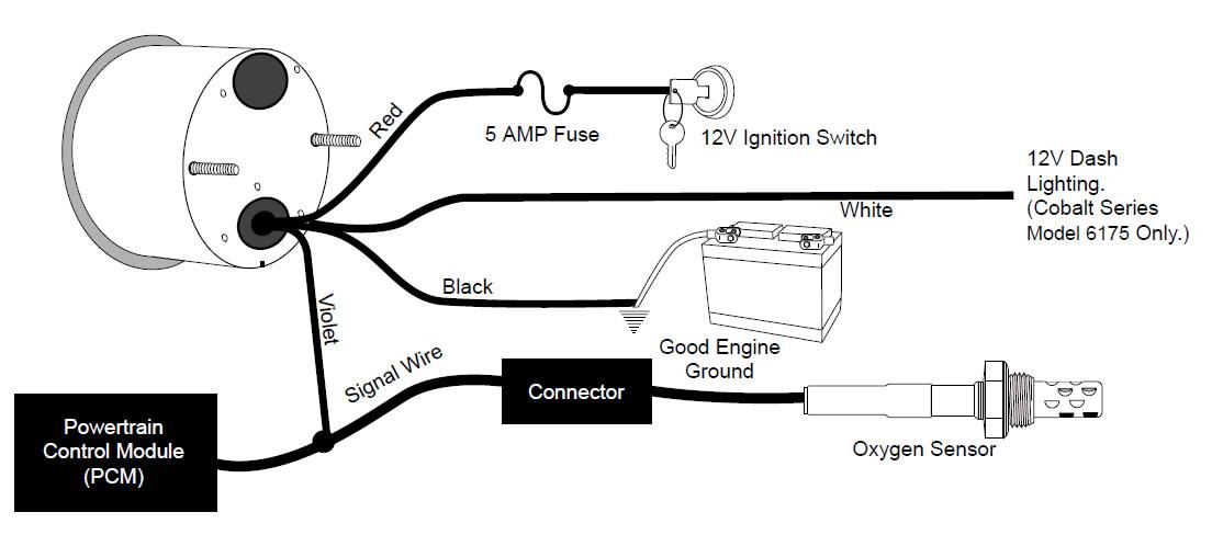 XM_6880] Autometer Phantom Voltage Gauge Wiring Schematic WiringLibrar Wiring 101