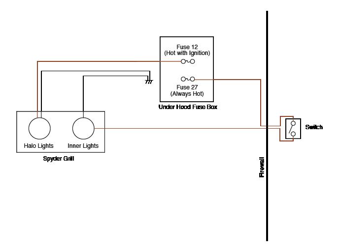 Fine Spyder Headlight Wiring Diagram Wiring Diagram Wiring Cloud Ostrrenstrafr09Org