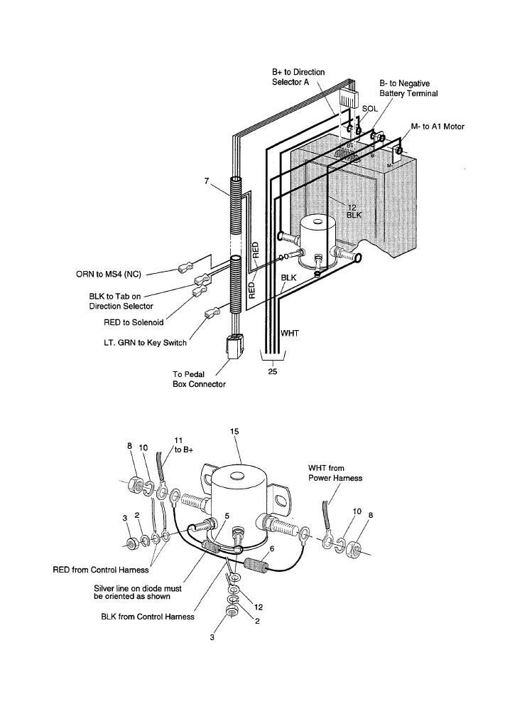 36 Volt Ezgo Wiring Contorer - Wiring Diagrams Database