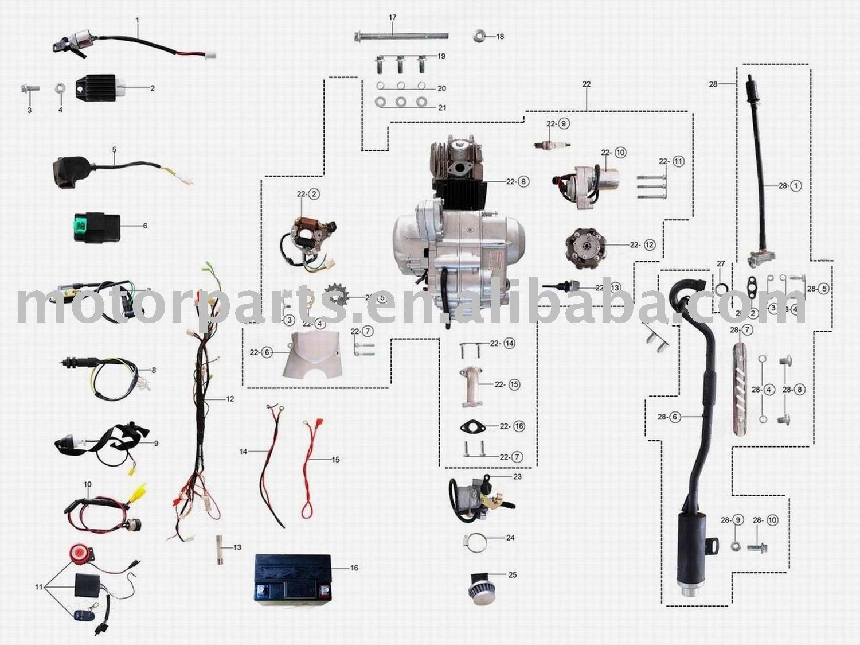 110cc Chinese Quad Wiring Diagram