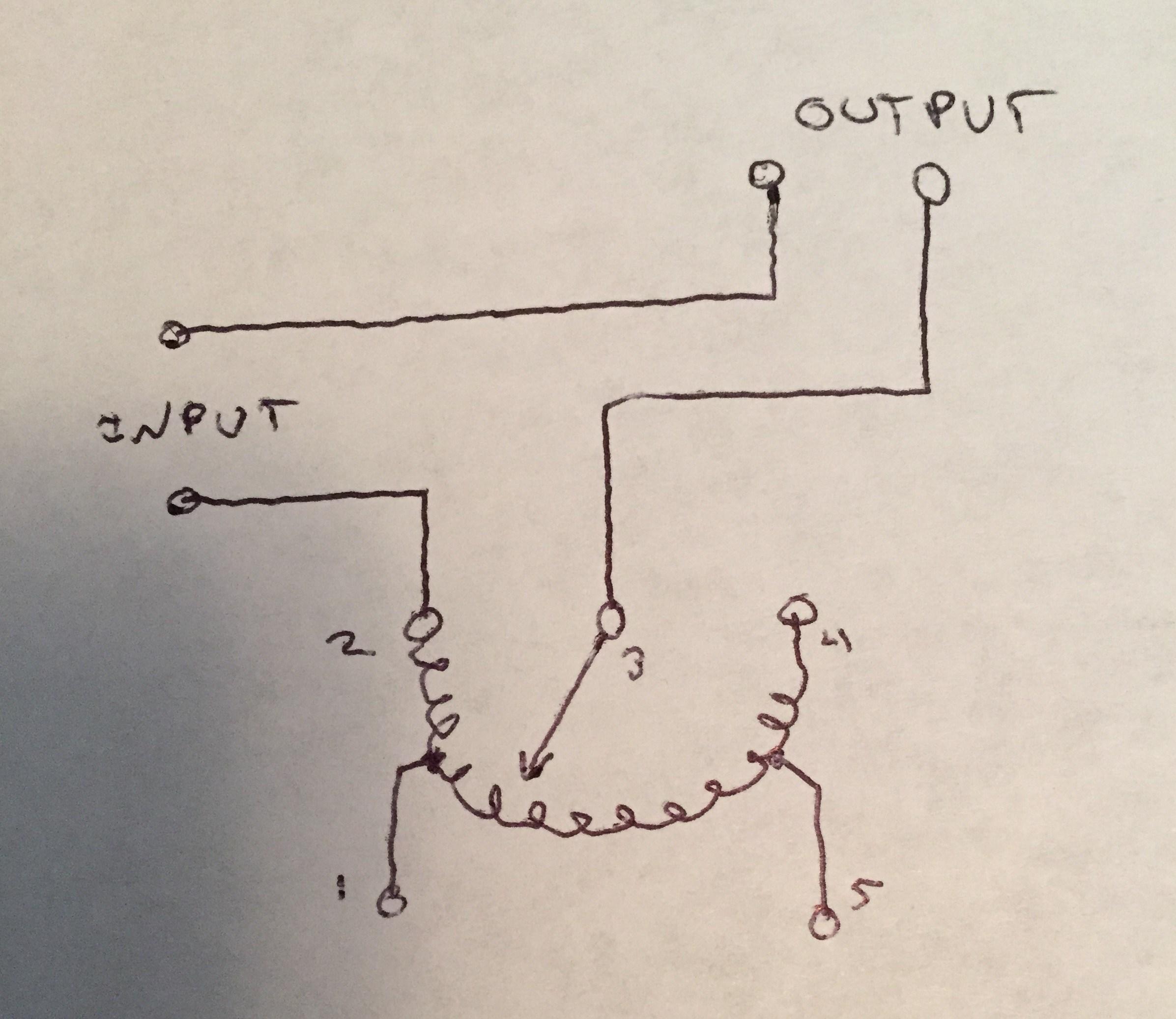 Variac Fan Controller Wiring Diagram
