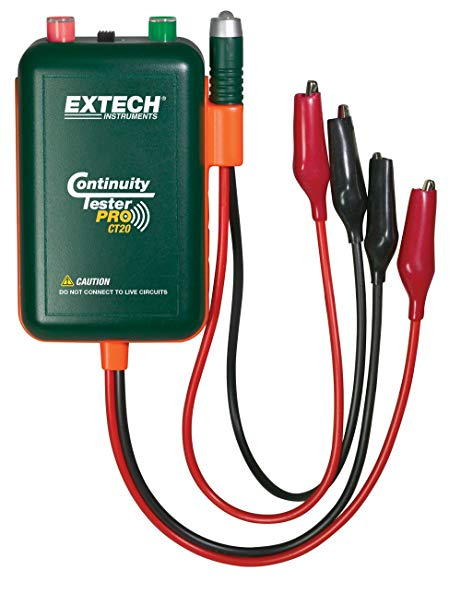 Excellent Amazon Com Extech Ct20 Remote And Local Continuity Tester Home Wiring Cloud Monangrecoveryedborg