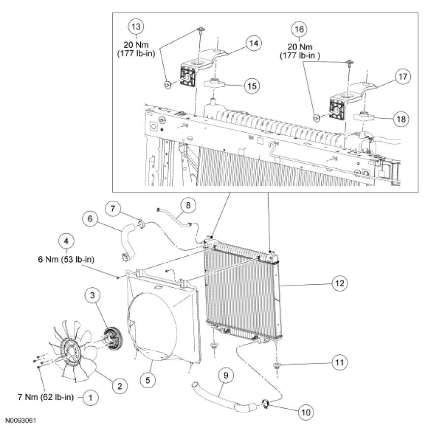 Sensational Ford F 150 Cooling System Diagram Wiring Diagram Wiring Cloud Onicaxeromohammedshrineorg
