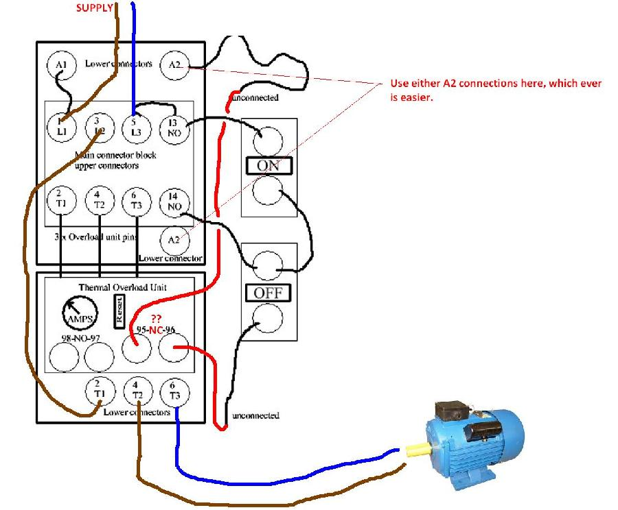 Fw 8722 Ask The Trades Wiring A Dol Starter Wiring Diagram