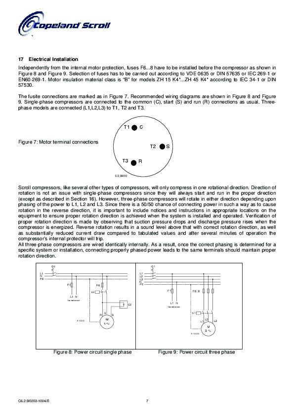 copeland compressor wiring diagram single phase ridgeline