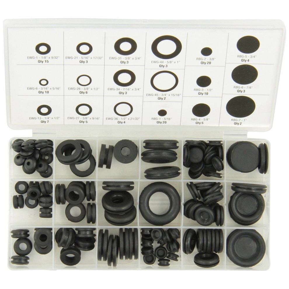 Rubber Grommet 9mm Open Pack 15 DIY HandyPack