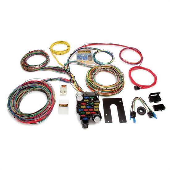 Pleasing Painless Wiring 10202 Universal 28 Circuit 18 Fuse Chassis Harness Wiring Cloud Onicaalyptbenolwigegmohammedshrineorg
