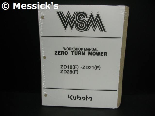Amazing Kubota Zd18 Zd21 Zd28 Service Manual Part 97897 15061 Wiring Cloud Lukepaidewilluminateatxorg