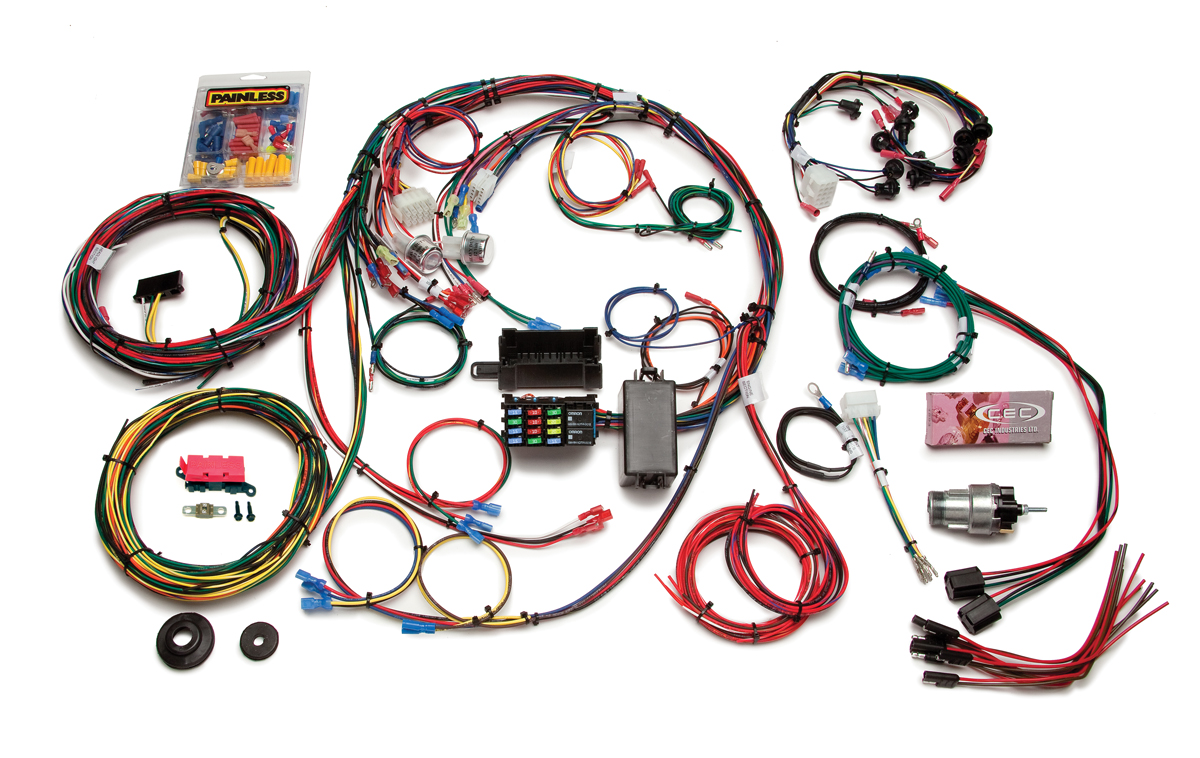 Tremendous 22 Circuit Direct Fit 1967 68 Mustang Chassis Harness Painless Wiring Cloud Photboapumohammedshrineorg