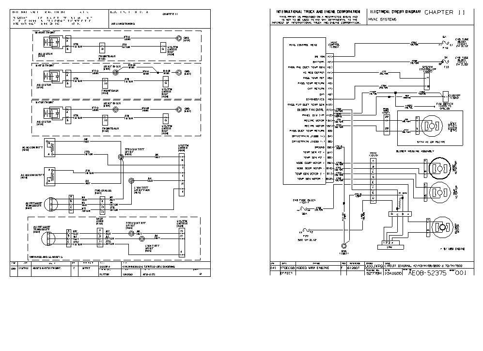 2006 International 4300 Dt466 Fuse Box Diagram