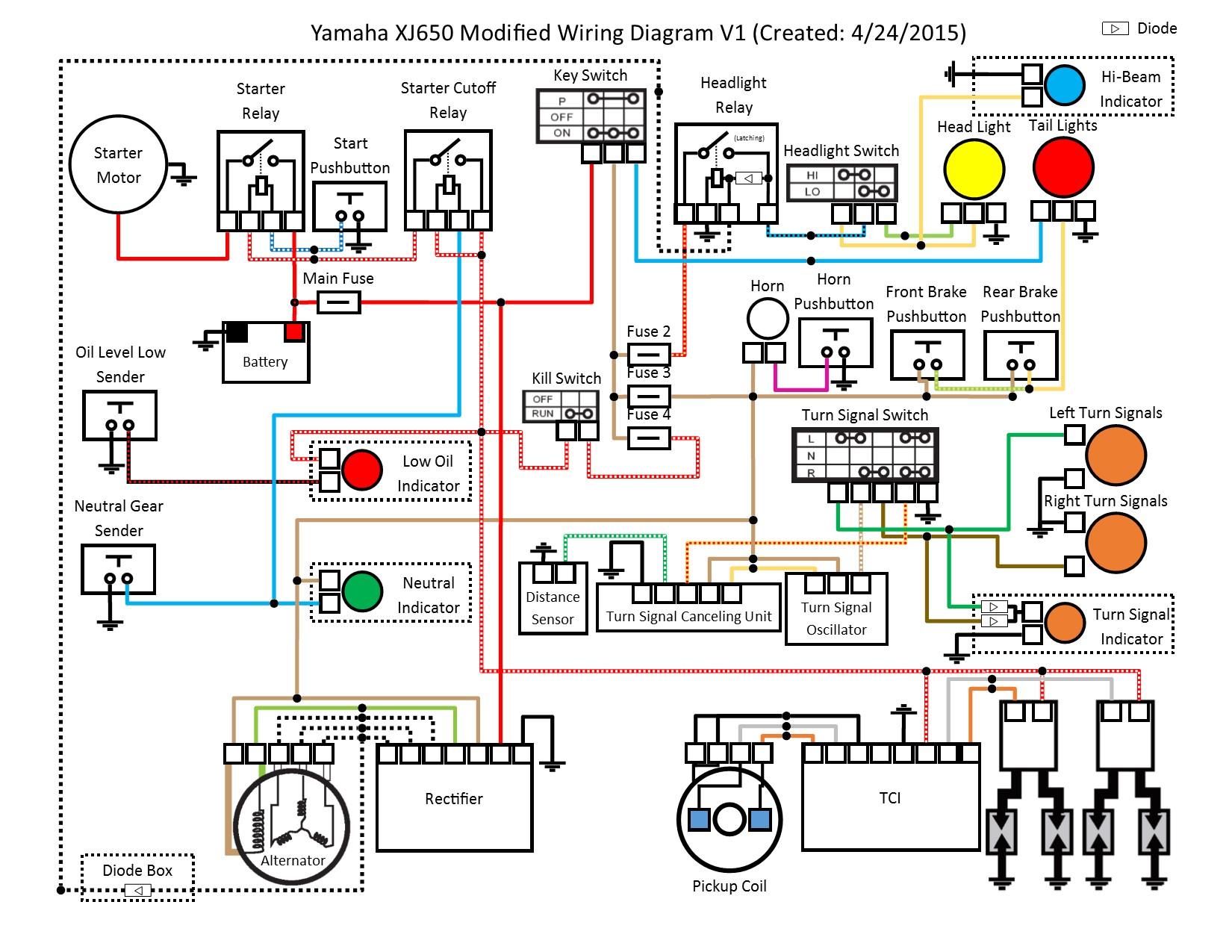 Yamaha Xj650 Wiring Code - wiring diagram ground-control -  ground-control.rilievo3d.it | 1980 Yamaha Xj650 Wiring Diagram |  | rilievo3d.it
