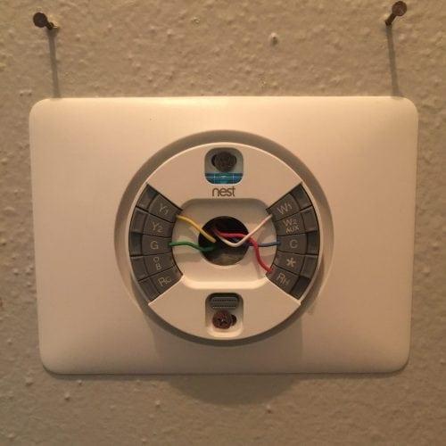 Enjoyable How To Install The Nest Thermostat The Craftsman Blog Wiring Cloud Intelaidewilluminateatxorg