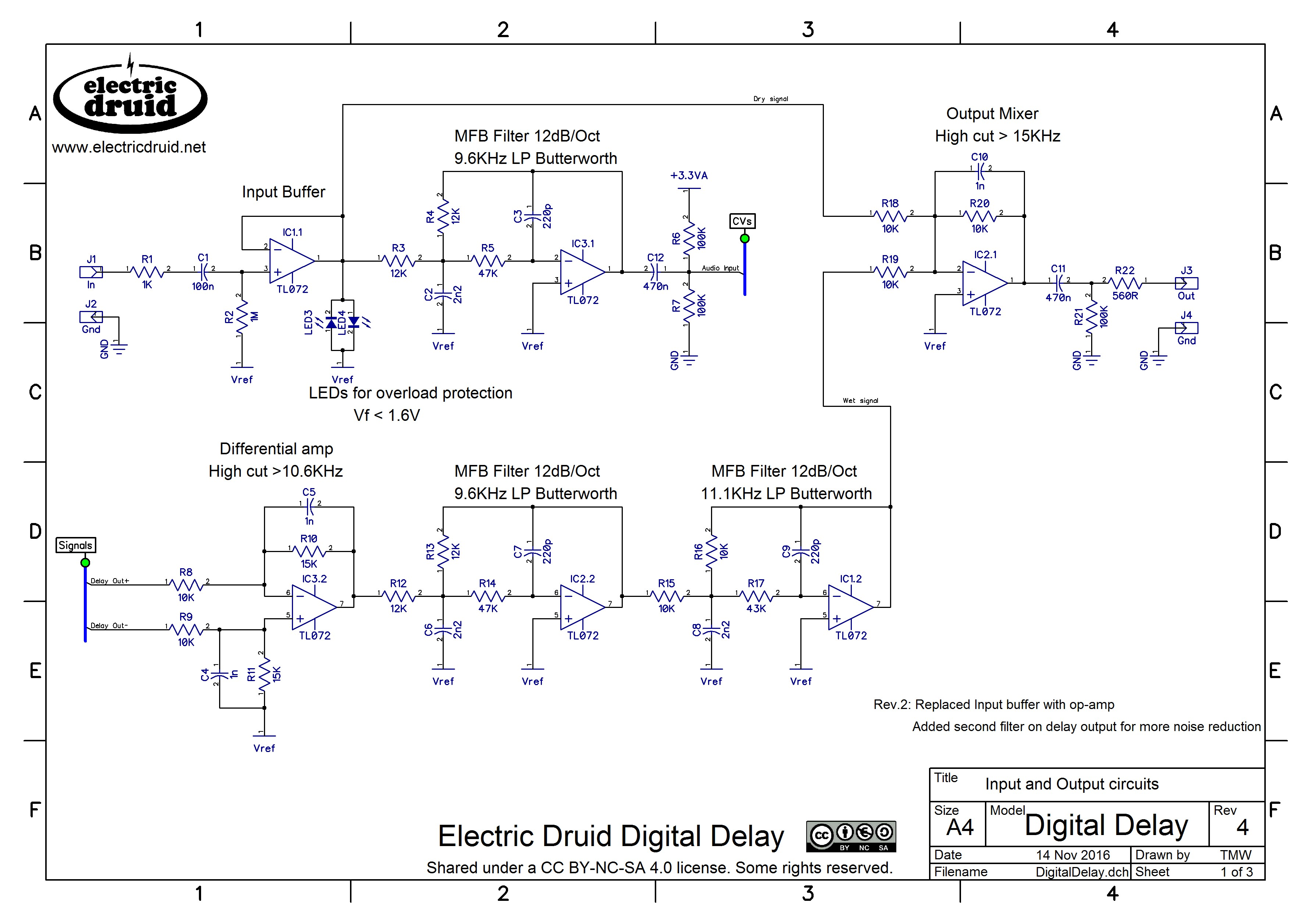 Pleasant Diy 4 Second Digital Delay Electric Druid Wiring Cloud Rdonaheevemohammedshrineorg