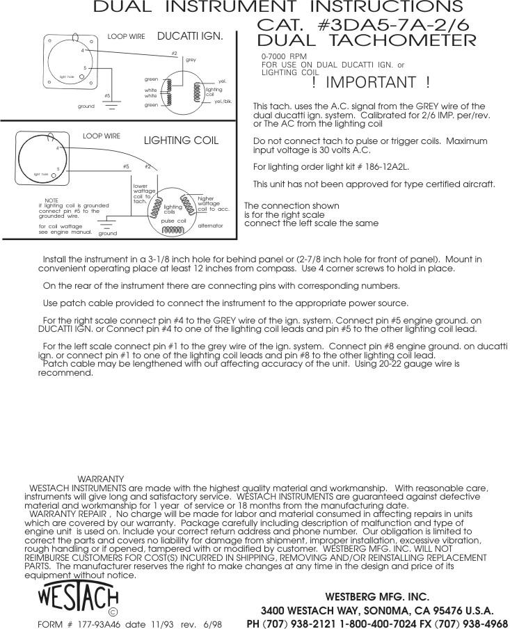 [TBQL_4184]  Westach Tachometer Wiring | Westach Tachometer Wiring |  | Netlify