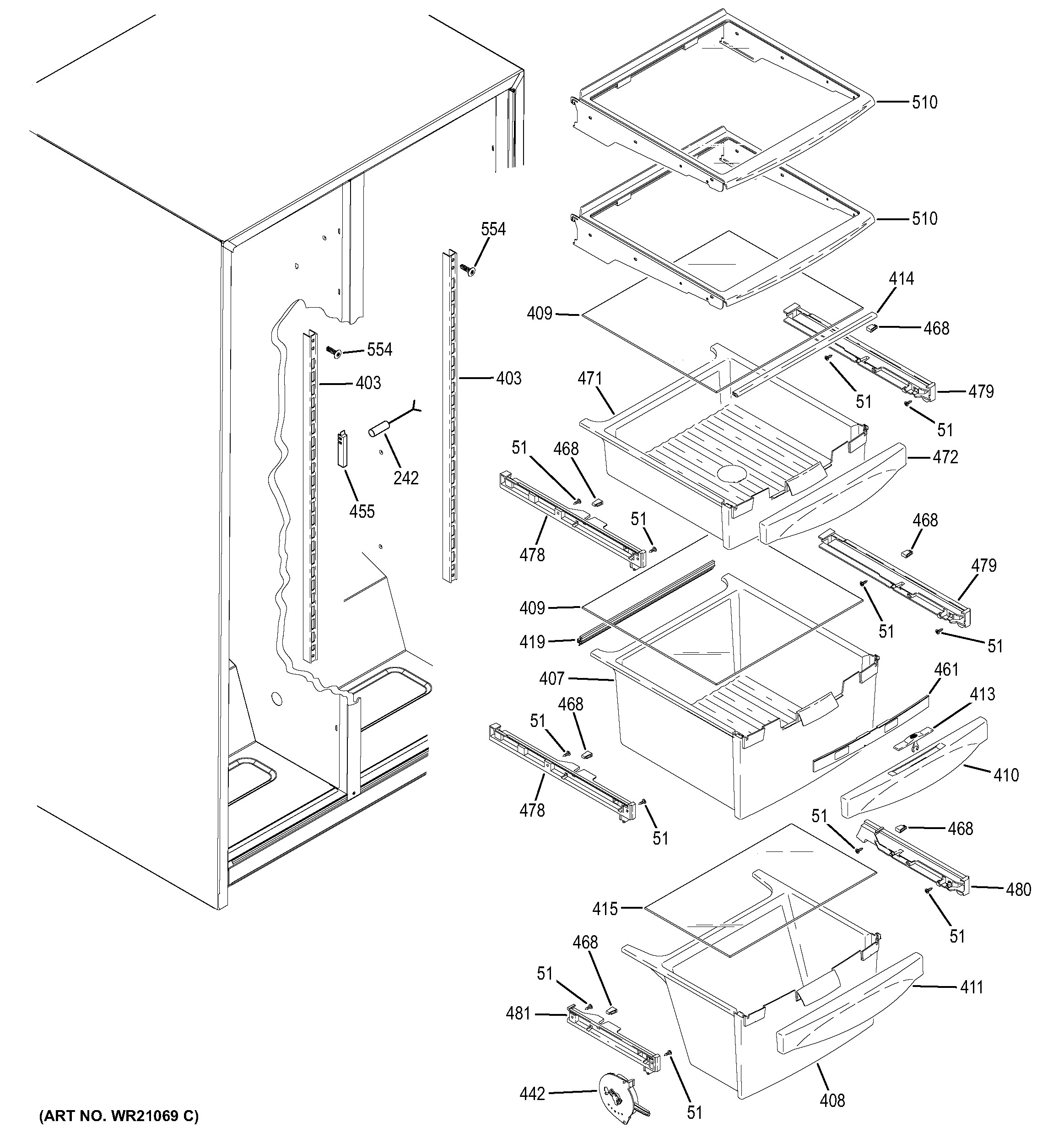 Superb Ge Monogram Ice Maker Parts Diagram Ge Ice Maker Parts Part Diagram Wiring Cloud Grayisramohammedshrineorg