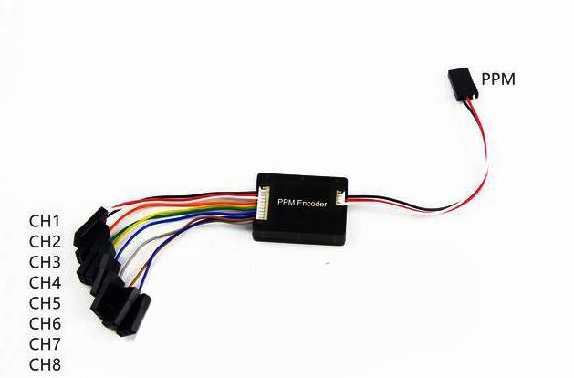 PPM Encoder V1.0 w//Case for Pixhawk PPZ MK MWC MegaPirate APM Flight Controller