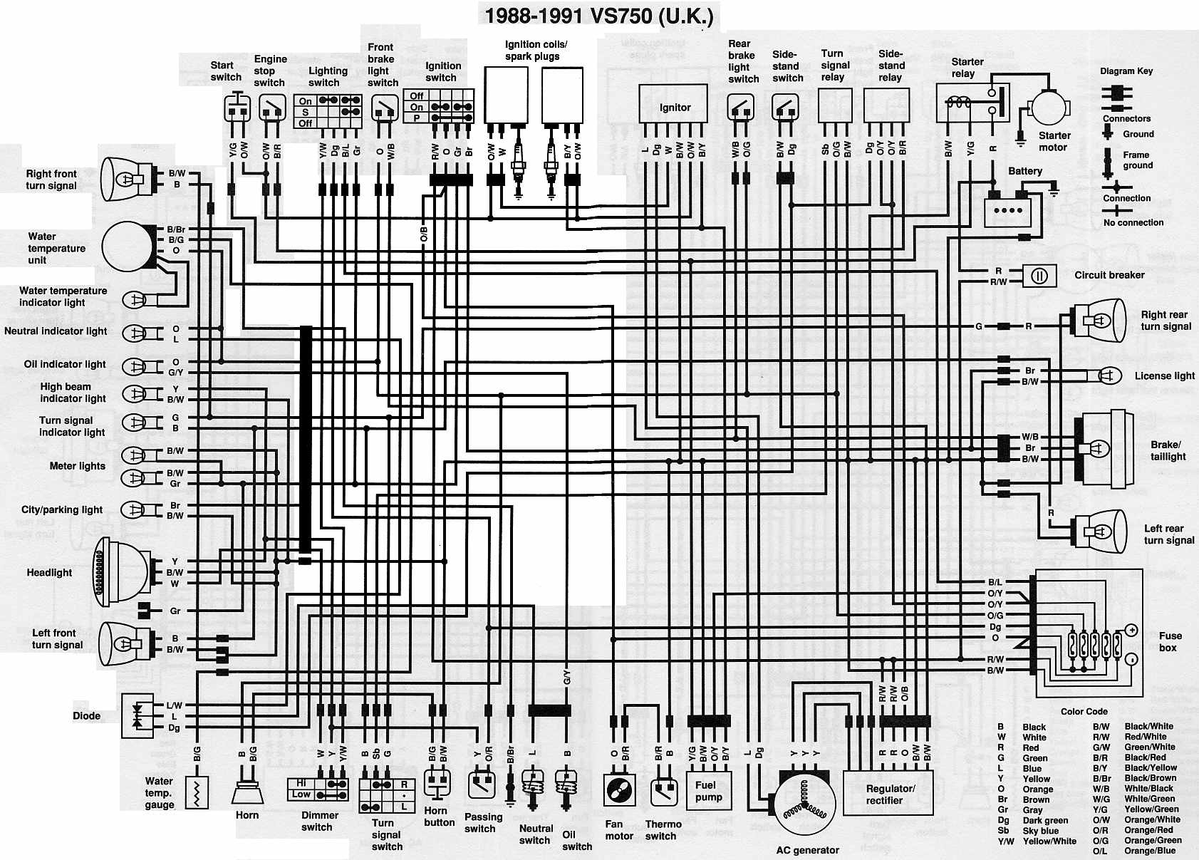 Wiring Diagram Intruder Vs 800