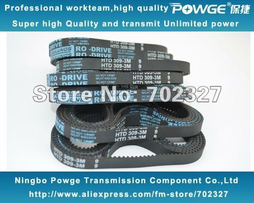 D/&D PowerDrive 309-3M-15 Timing Belt