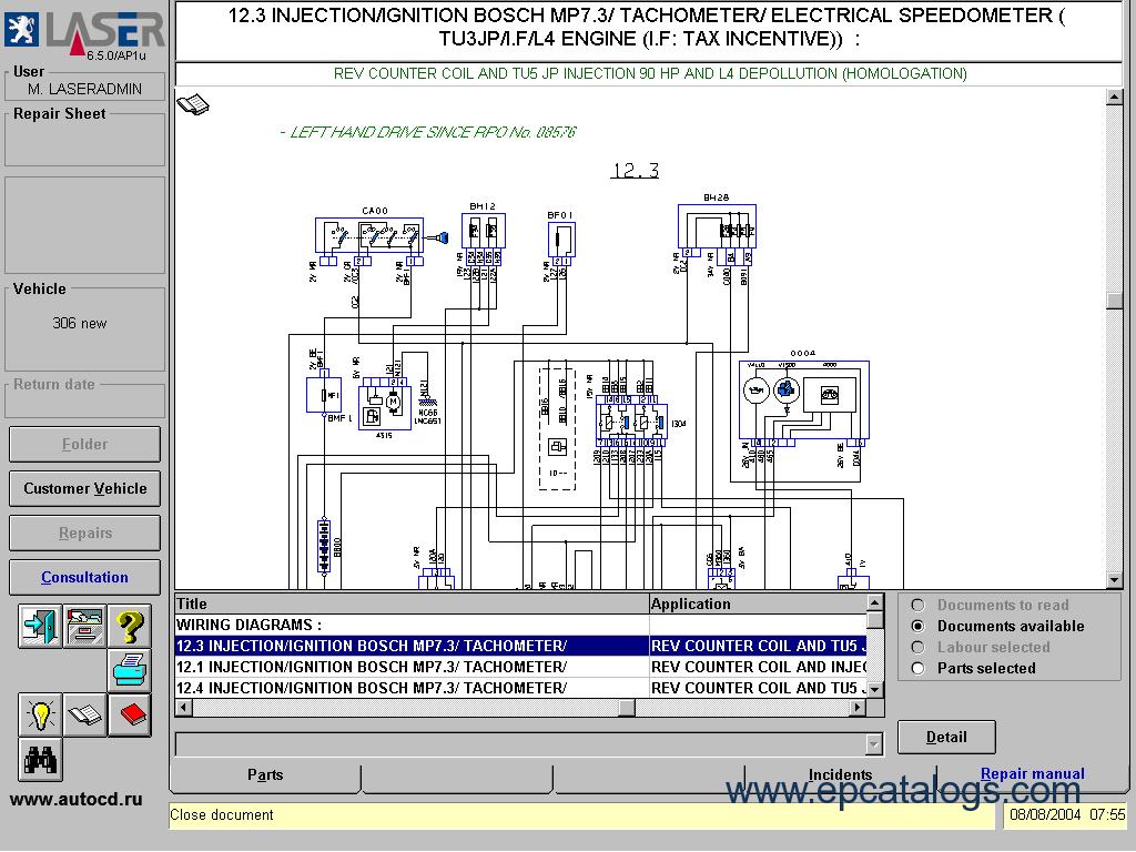 Gt 5378 Peugeot 406 V6 Wiring Diagram