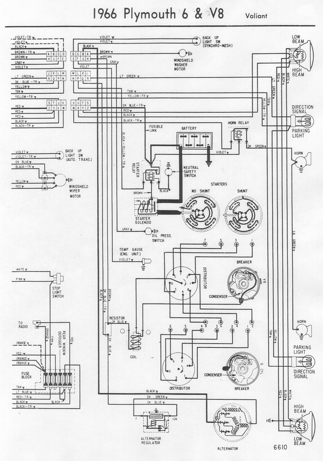 Stupendous 1966 Plymouth Valiant Wiring Diagram General Wiring Diagram Data Wiring Cloud Domeilariaidewilluminateatxorg