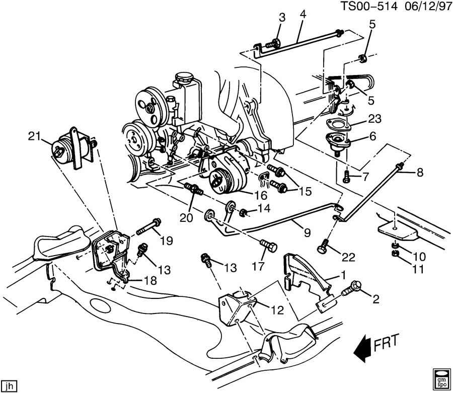 Nh 5808 Chevy S10 Parts Diagram Schematic Wiring