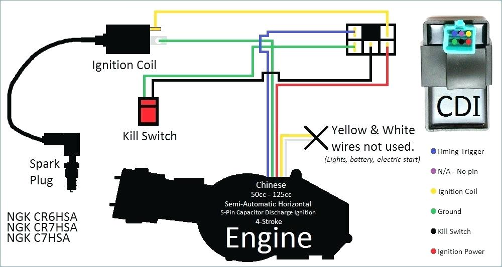 110cc 5 Pin Cdi Wiring Diagram