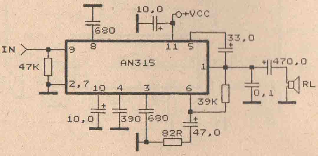 Magnificent Schematic Power Amplifier With Ic An7116 Mono Amplifier Circuit Wiring Cloud Hemtegremohammedshrineorg