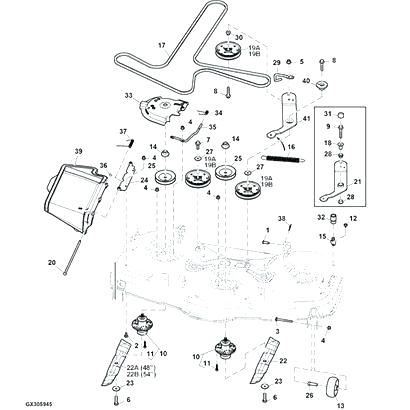 john deere eztrak z445 wiring harness yt 0927  john deere z445 parts diagram wiring diagram  john deere z445 parts diagram wiring