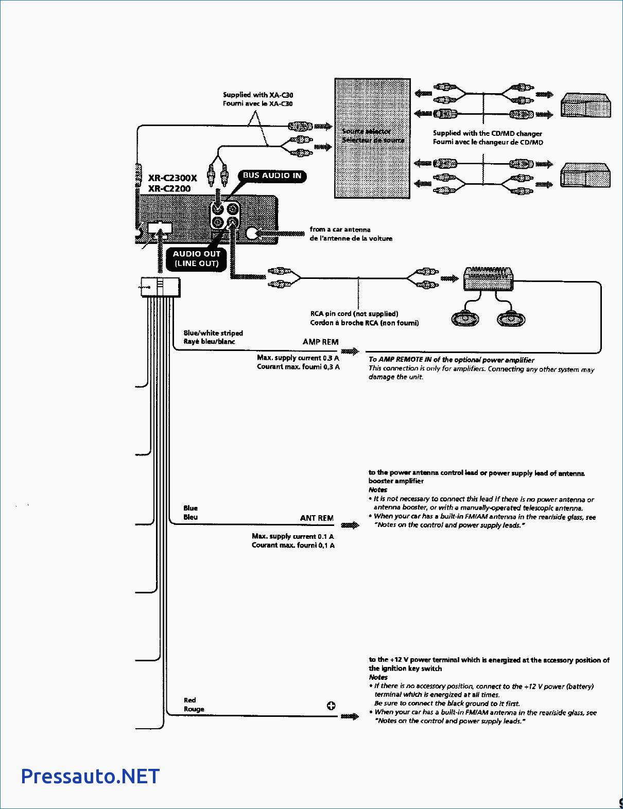 Sony Xplod 100db 52wx4 Wiring Diagram