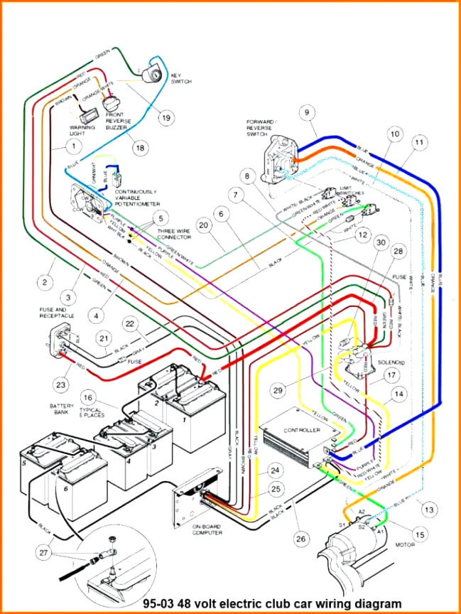 1987 ez go gas golf cart wiring diagram wiring diagram Yamaha Golf Cart Battery Wiring