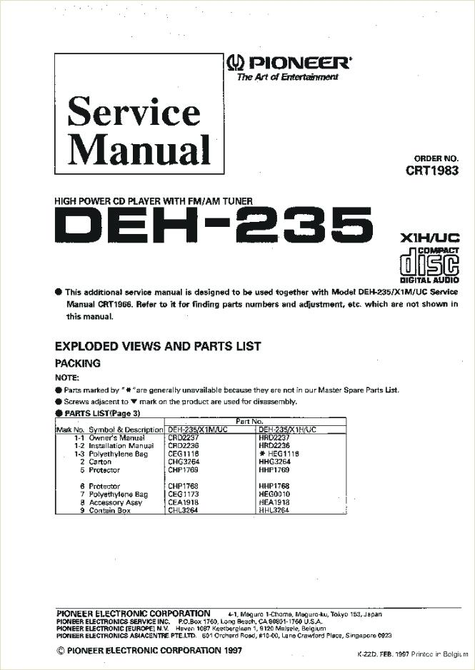 pioneer deh p6000ub wiring diagram  7 pin wiring diagram