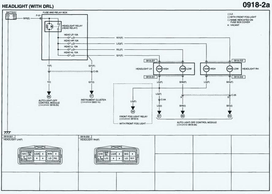 2007 Mazda 3 Stereo Wiring Diagram