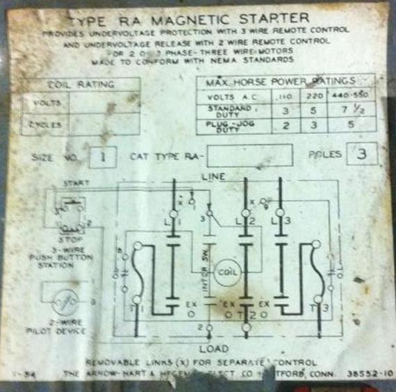 Admirable Single Phase Magnetic Starter Wiring Diagram Basic Electronics Wiring Cloud Loplapiotaidewilluminateatxorg