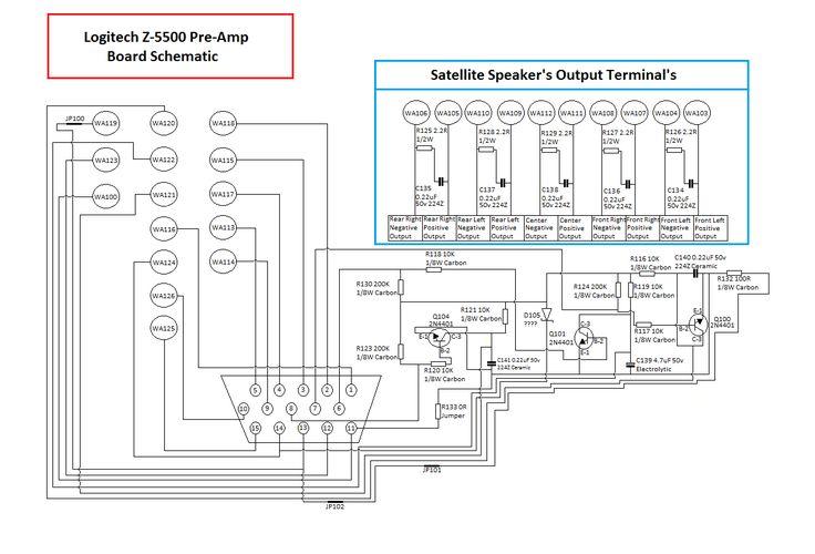Rk 1717  Logitech Wiring Diagram Wiring Diagram