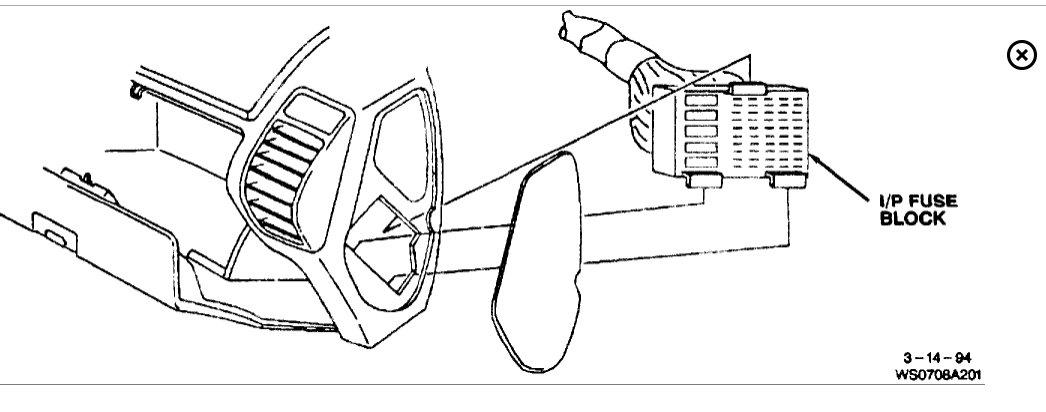 Am 3031 1994 Oldsmobile Cutlass Supreme Fuse Diagram Download Diagram