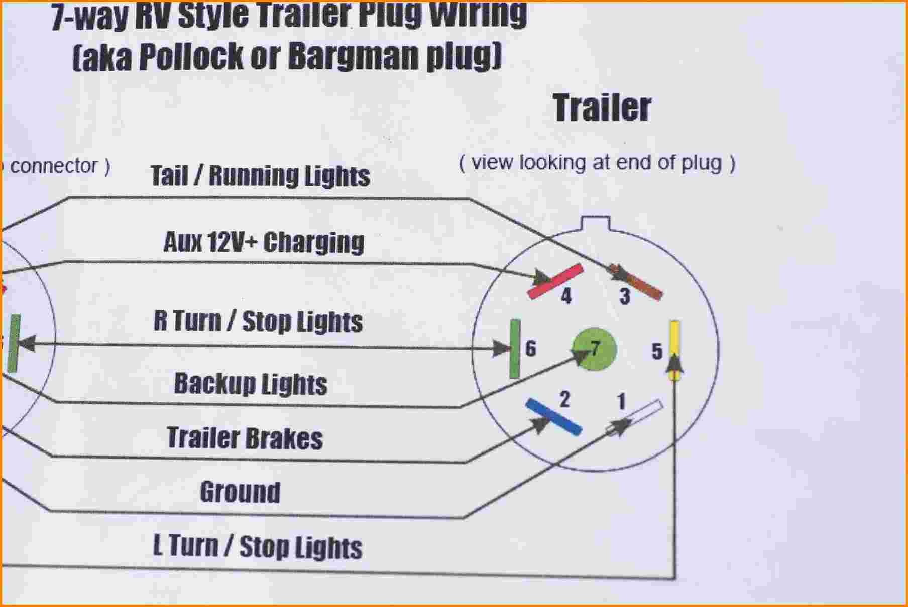 TV_7185] Calico Trailer Wiring Diagram For 7 Pin Connector Free Diagram