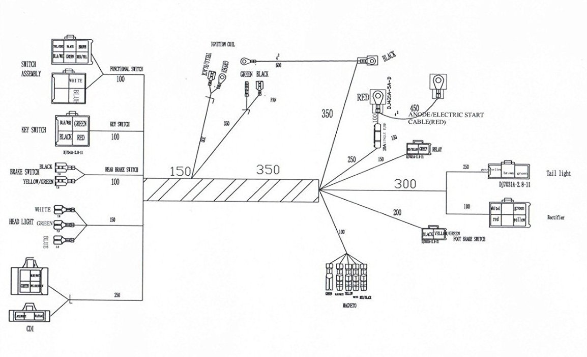 Kazuma 110 Wiring Diagram