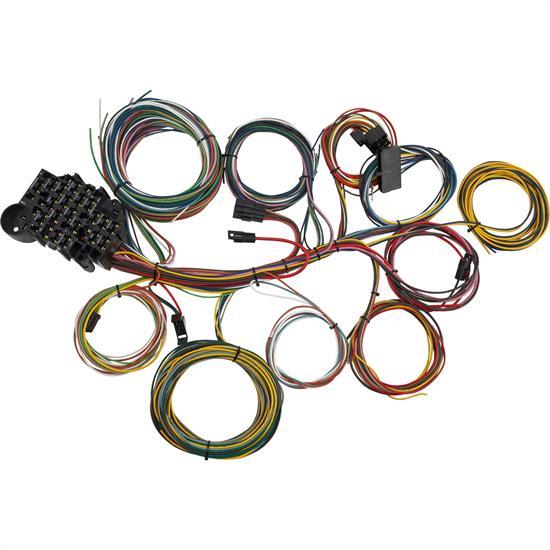 Terrific Speedway Universal 22 Circuit Wiring Harness Wiring Cloud Uslyletkolfr09Org